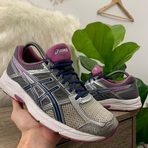Asics Gel Contend 4 Running Campanula Carbon Shoes